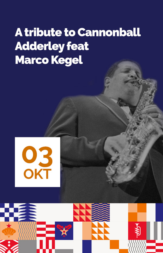 Concert A tribute to Cannonball Adderley feat Marco Kegel (hover)