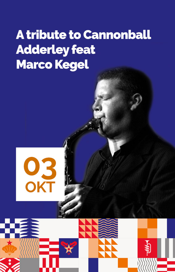 Concert A tribute to Cannonball Adderley feat Marco Kegel