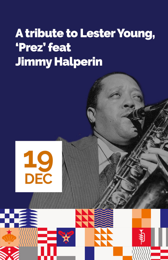 Concert A tributo to Lester Young feat jimmy Halperin (hover)
