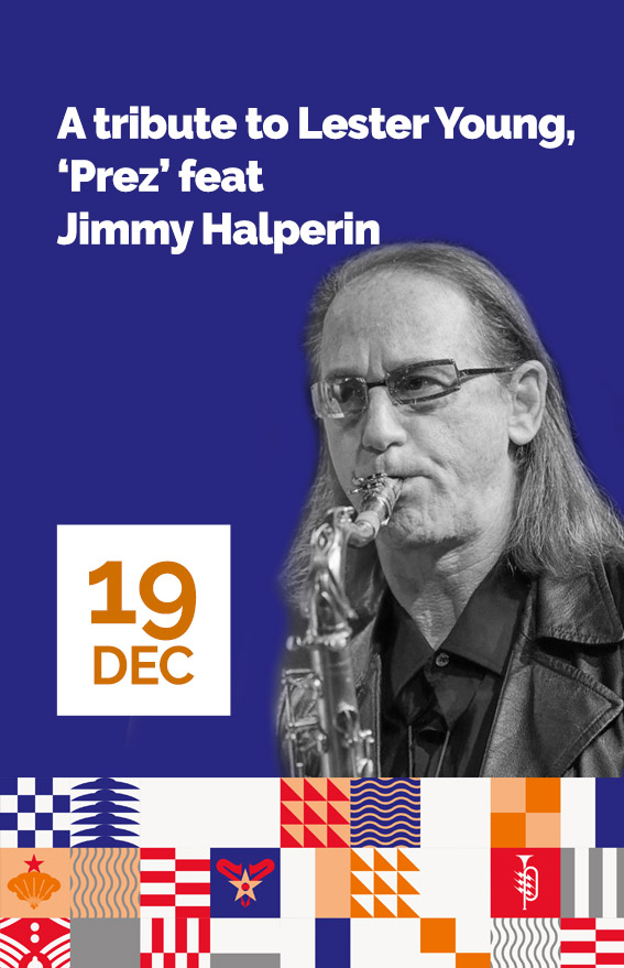 Concert A tributo to Lester Young feat jimmy Halperin